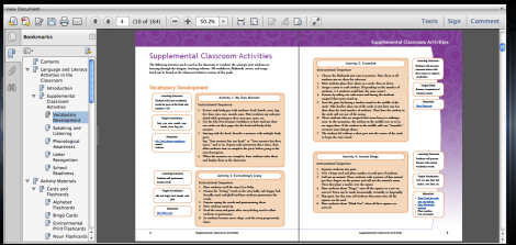 Imagine Learning Supplemental Classroom Activities